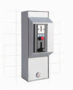 D 517- Coin operated electronic shower controls